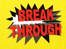 Break Through Stock Photos