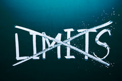 Break the limits concept Royalty Free Stock Photo