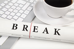 Break in office Stock Photos