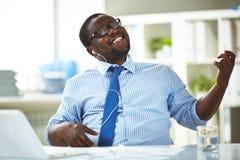 Break in office Stock Image