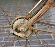 Break  the old bike Royalty Free Stock Photo