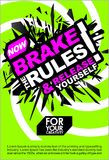 Break The Rules & Release Yourself , Motivational Lettering Quote Vector Poster, Banner, Flyer or Sticker Design Modern Illustrati. Break The Rules Release Royalty Free Stock Photos