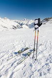 Break at ski slope Royalty Free Stock Photos