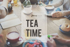Break Tea Coffee Time Relax Concept Royalty Free Stock Images