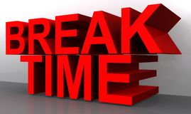 Break Time Royalty Free Stock Images