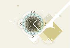 Break the time stock illustration