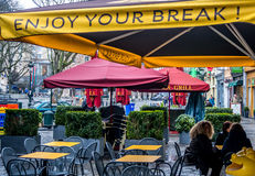 Break time! Relax - you are in Brussels! Royalty Free Stock Image