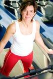 Break on treadmill Stock Image