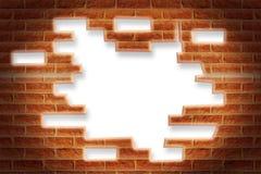 Break wall template Royalty Free Stock Photo