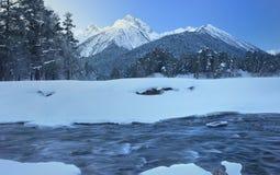 Break in winter stock image