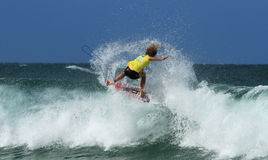 BREAKA BURLEIGH SURF COMPETITION Stock Photos