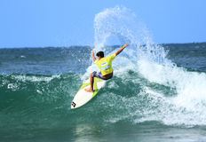 Breaka Burleigh Surf Pro competition. Stock Photos