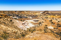 Breakaways Coober Pedy royalty-vrije stock foto's