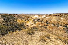 Breakaways Coober Pedy Stock Images