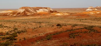 The Breakaways. Gibber Plains and mica pits of South Australia Stock Photo