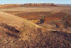 Breakaways rezerwa blisko Coober Pedy w Południowym Australia, Australia Zdjęcia Stock