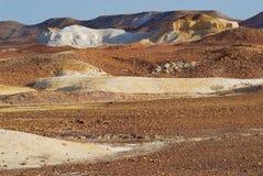 Breakaways rezerwa blisko Coober Pedy w Południowym Australia, Australia Fotografia Stock