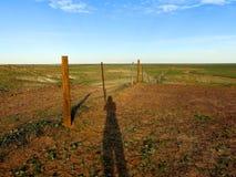 The Breakaways, South Australia. Panorama of The Breakaways near Coober Pedy, South Australia stock photo