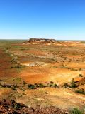 The Breakaways, South Australia. Panorama of The Breakaways near Coober Pedy, South Australia Royalty Free Stock Photography