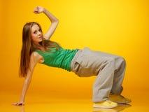 Breakdance Imagem de Stock Royalty Free