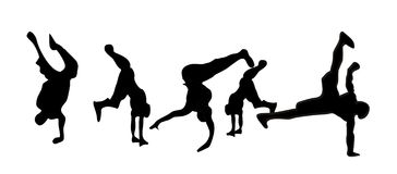 Breakdance royalty illustrazione gratis