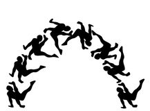 Breakdance illustrazione vettoriale