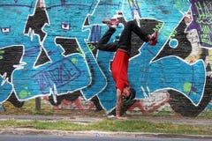 Breakdance Royaltyfri Foto