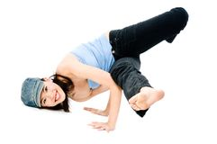Breakdance Stockbild
