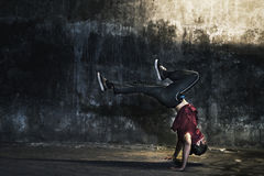Breakdance Hiphop Dance Skill Streetdance Concept Royalty Free Stock Photos