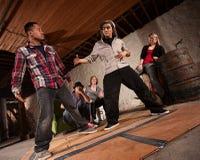Breakdance-Kampf Lizenzfreie Stockbilder