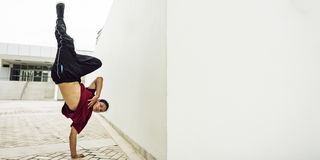 Breakdance Teenager Style Movement Hiphop Concept. Breakdance Teenager Movement Hiphop Concept Royalty Free Stock Images