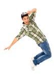 breakdancer男性年轻人 免版税库存图片