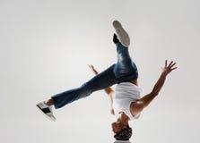 Breakdancer空转 免版税库存图片