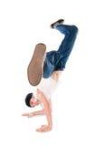 breakdancer χαμογελώντας Στοκ Φωτογραφία