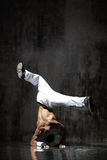 The breakdancer Royalty Free Stock Photo