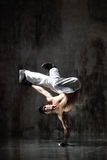 The breakdancer Royalty Free Stock Image