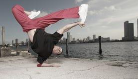 Breakdancer Imágenes de archivo libres de regalías