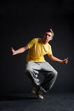 Breakdancer Royalty Free Stock Photos
