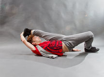 Breakdancer Immagine Stock