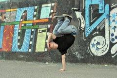 Breakdancer Arkivbilder