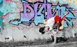 Breakdancer Arkivbild