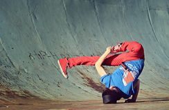Breakdancer Royaltyfria Bilder