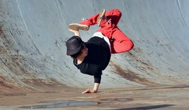 Breakdancer Arkivfoton