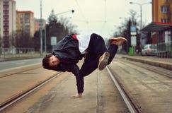 Breakdancer Royaltyfria Foton