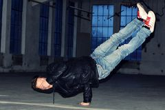 Breakdancer Royaltyfri Foto