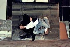 Breakdancer Royaltyfri Bild