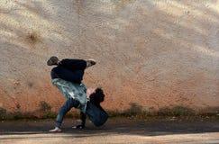 Breakdancer Fotografering för Bildbyråer