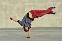 Breakdancer Arkivfoto