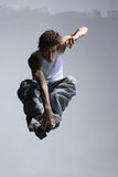Breakdancer. Stylish and cool breakdance style dancer posing Royalty Free Stock Photography