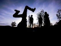 Breakdancer Stock Foto